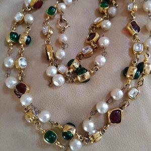 Rare Chanel Gripoix Necklace